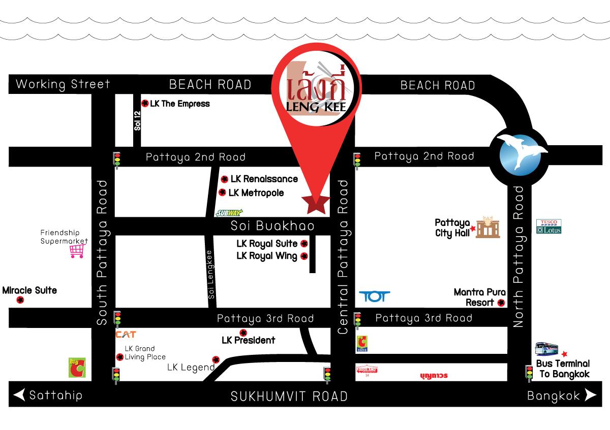 Map - Leng Kee Restaurant